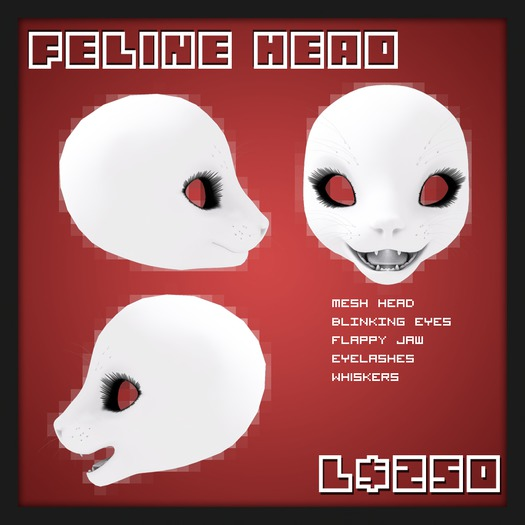 Paws - Feline Head [Boxed]