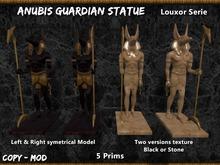 Anubis Guardian Mesh Statue [Louxor Serie]
