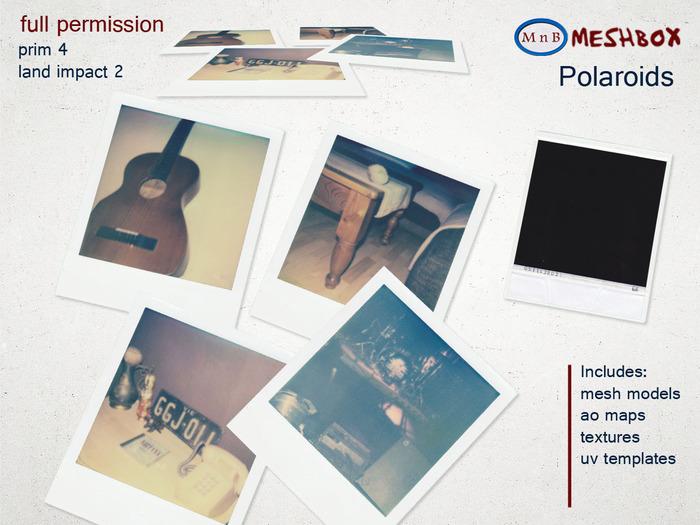 *M n B* Polaroids (meshbox)