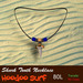 Shark tooth necklace by Hoodoo Surf