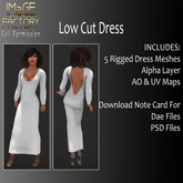 Close Out Sale IFMC Low Cut Dress FP