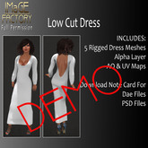 IFMC Low Cut Dress FP DEMO