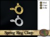 >^OeC^< Findings - Spring Ring Clasp