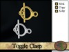>^OeC^< Findings - Toggle Clasp