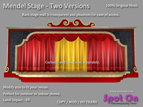 Mendel Stage - Two Versions