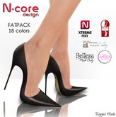 "N-core STILETTO ""FatPack"" for High Feet (Rigged Mesh)"