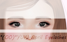 *(OO)*YUKI_April Eyelashes