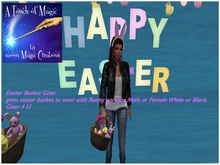 Easter Basket & Bunny Ear giver (Boxed)UPDATED