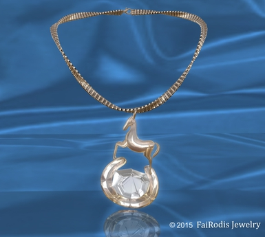 FaiRodis lucky horse necklace