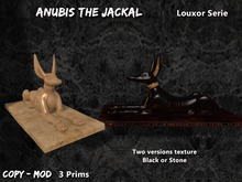 Anubis the Jackal Mesh Statue [Louxor Serie]
