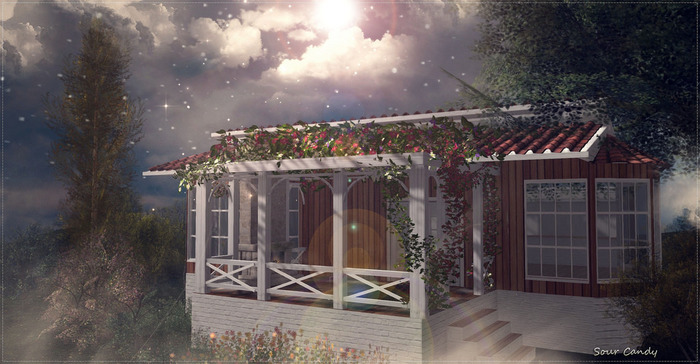 """<HEART HOMES> """"Blooming Spring"""" - Spring house with blossom flowers and built in Sauna!"""