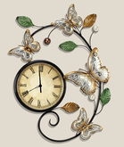 NEW Butterfly Wall Clock -- NOT MESH-- $199