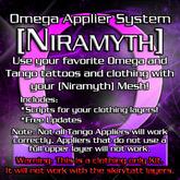 Omega System Kit - [Niramyth]