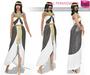FULL PERM MI Rigged Mesh Women's Ancient Egyptian Quinn Costume - Cleopatra
