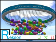 Rekson - Balloon Drop Rezzer Balloon Net - COPYABLE 2020 - Low Lag - New Years - Party