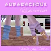 AURADACIOUS Leg warmers Tintable