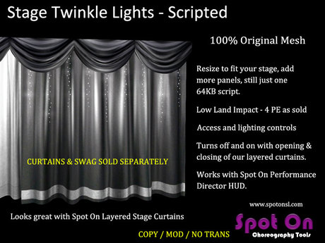 Spot On Stage Twinkle Lights