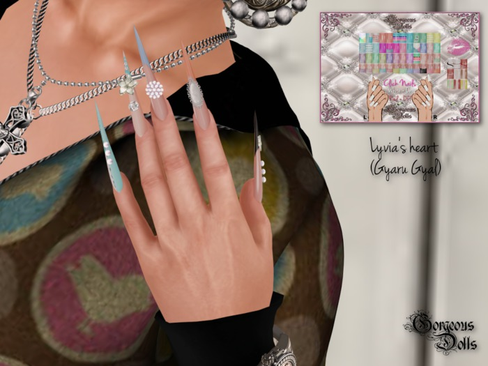~GD~Lyvia's Heart(Gyaru Gyal) - Slink ELEGANT 1 Mesh Hands