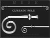 T-3D Creations [ Curtain Pole ]  Regular MESH - Full Perm -