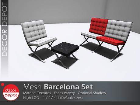 [DD] - FULL PERM  Barcelona Set