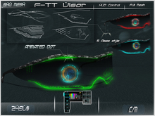 F-TT Visor  -Shu Mesh-