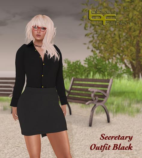 Babele Fashion :: Secretary Outfit Black