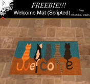 Pestique Welcome Mat