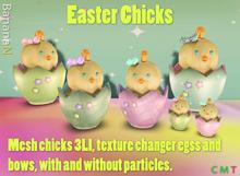 Decor Easter Chicks