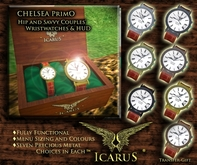 ==IcaruS== CHELSEA Primo Couples' WATCHES