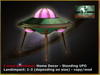 Bliensen + MaiTai - I want to believe - Home Decor - standing UFO