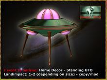 Bliensen + MaiTai - I want to believe - Home Decor - standing UFO