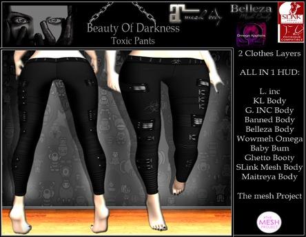 -BOD- CG, Toxic Pants