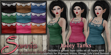 .: Somnia :. Lacey Tanks {Crated}