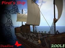 No Script Pirat Ship
