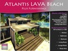 MOCO Emporium ~ Atlantis LAVA Beach Mesh Cottage Plus Full Furniture Pack - Save Over 30% - Low Land Impact