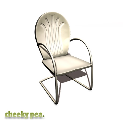 :CP: Shelly Lawn Chair Ivory