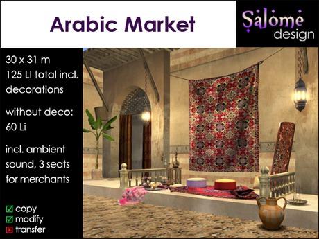 Arabic Market - Souk - Bazaar
