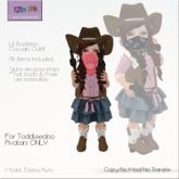 KJIm: Lil Buckaroo Cowgirl Outfit