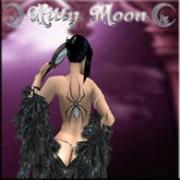 Retired KM Tattoo Spider, Moonstone