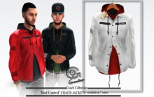 !Grandeur! Coach White Jacket