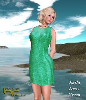 Babele Fashion :: Saila Dress Green