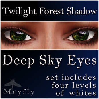 Mayfly - Deep Sky Eyes (Twilight Forest Shadow)