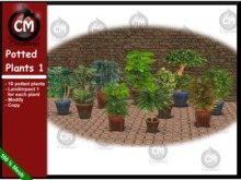 CM Creations, Potted Plants 1