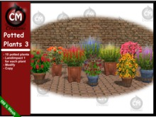 CM Creations, Potted Plants 3