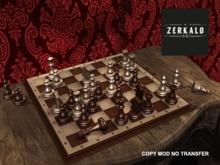 [ zerkalo ] Chess / Karpov vs Unzicker (1974) Wood