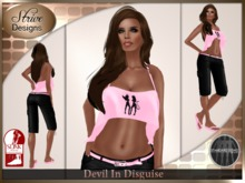 {SD} DEVIL IN DISGUISE - PINK