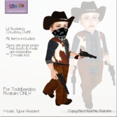 KJIm: Lil Buckaroo Cowboy Outfit