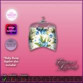 *E.D.* Floral Cutie Bottom ~ Bluish