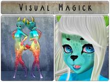 .: Visual Magick :. Leopard Kemono Mod (Rainbow Sorbet)