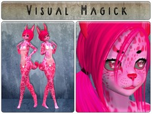 .: Visual Magick :. Leopard Kemono Mod (Pretty in Pink)